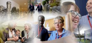 Montage of various roles at the Trust