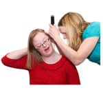 Photo of someone getting their ears checked