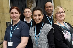 The Learning Disability Health Support team.